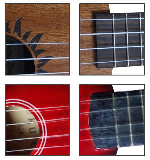 toy ukulele difference