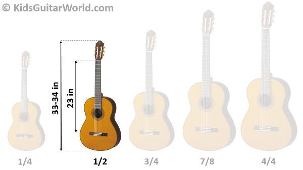 2a54da1fd6 1/2 Guitar – The perfect student guitar for kids