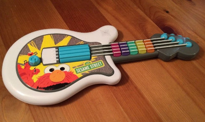 elmo guitar toy