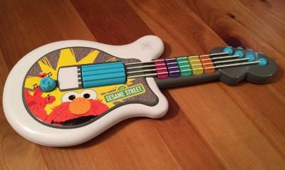 elmo guitar toy