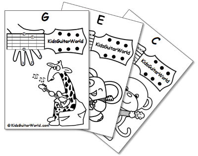 Guitar Chords for Kids - Free PDF
