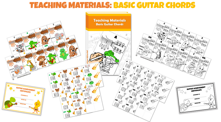 guitar teaching materials