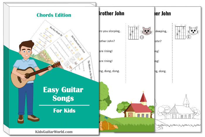 brother john guitar worksheets