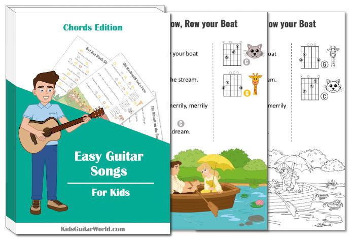 row row row your boat guitar